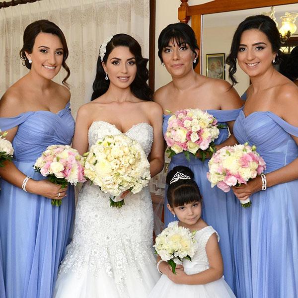 Twobirds strapless wedding dress beaded