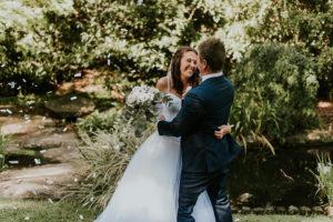 wedding gowns outdoor