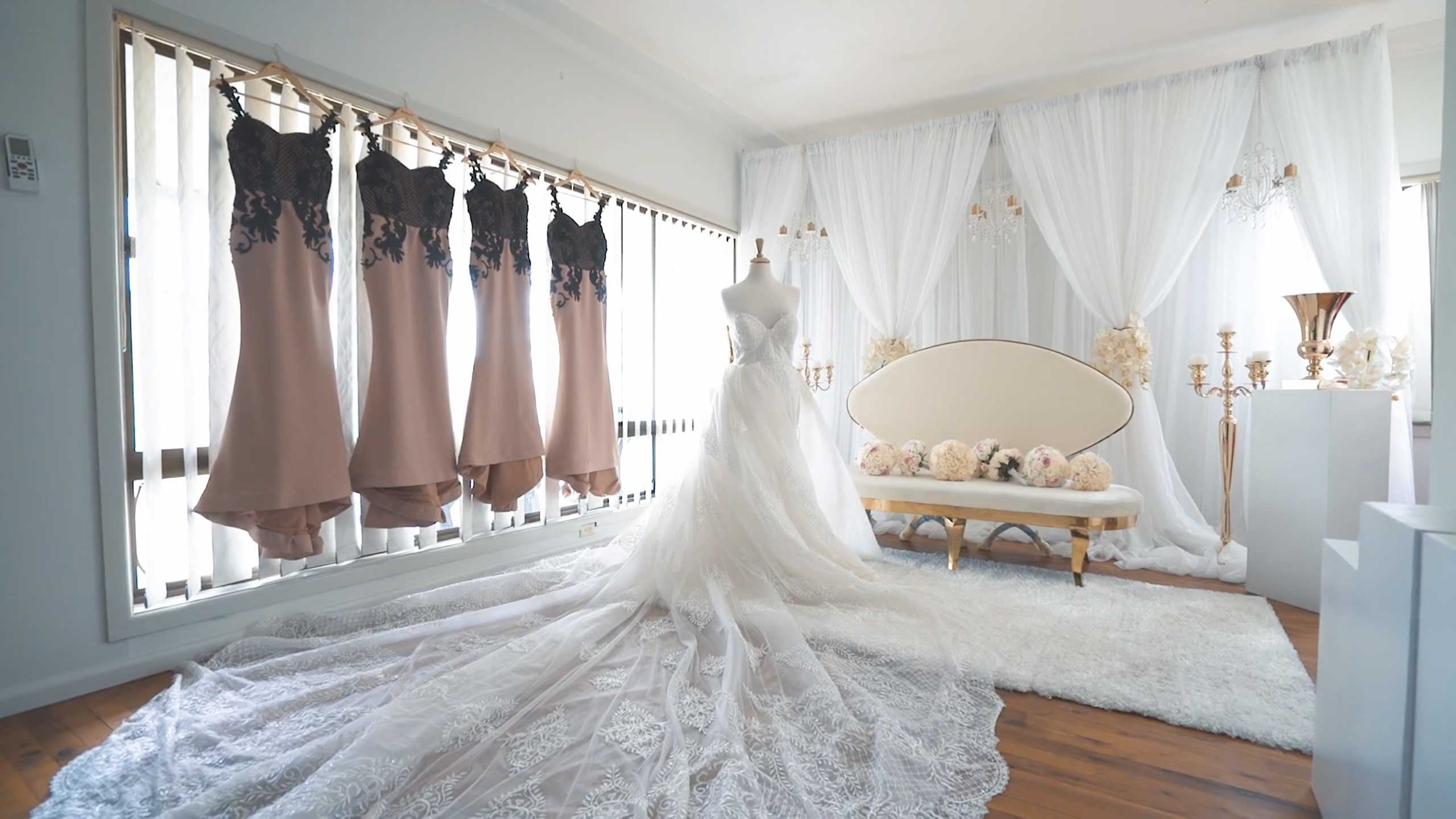 Dreams starts at twobirds bridal